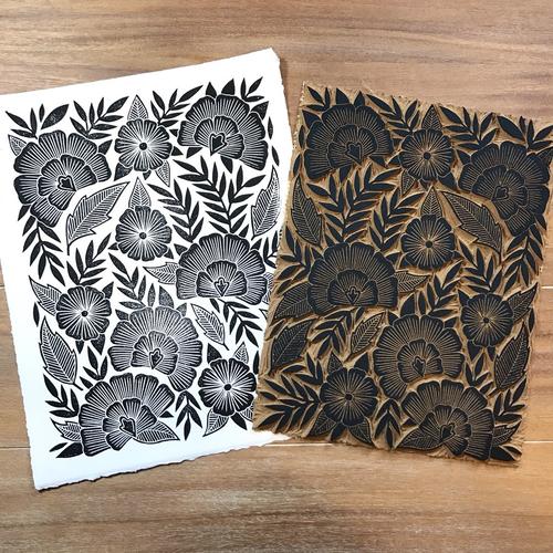Linoleum Block Printing Arts South Dakota